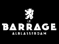 Le Barrage Alblasserdam Logo